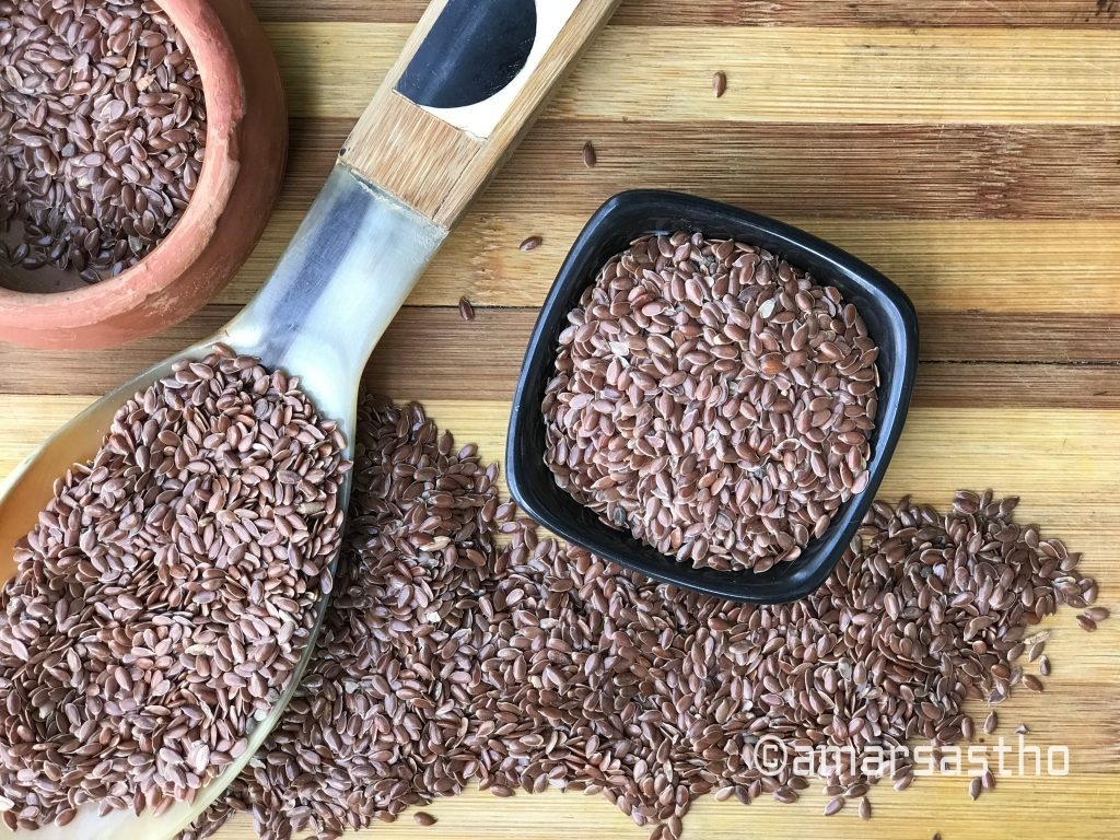 Health benefits FLAX SEEDS (তিসি বীজ)